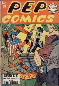 Cover Thumbnail for Pep Comics (Archie, 1940 series) #15