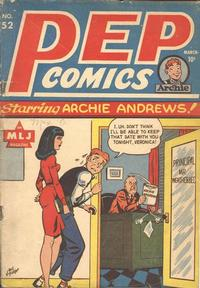 Cover Thumbnail for Pep Comics (Archie, 1940 series) #52