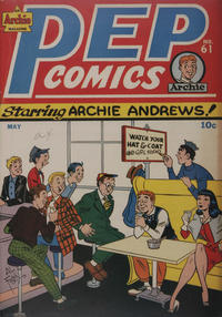 Cover Thumbnail for Pep Comics (Archie, 1940 series) #61