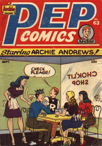 Cover Thumbnail for Pep Comics (Archie, 1940 series) #63
