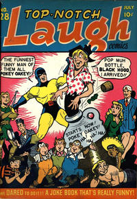 Cover Thumbnail for Top Notch Laugh Comics (Archie, 1942 series) #28