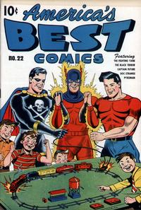 Cover Thumbnail for America's Best Comics (Pines, 1942 series) #22