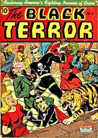 Cover Thumbnail for The Black Terror (Pines, 1942 series) #2