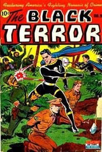 Cover Thumbnail for The Black Terror (Standard, 1942 series) #9