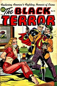 Cover Thumbnail for The Black Terror (Standard, 1942 series) #24
