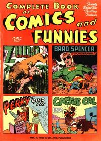 Cover Thumbnail for Complete Book of Comics and Funnies (Pines, 1944 series) #1
