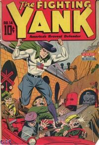 Cover Thumbnail for The Fighting Yank (Pines, 1942 series) #14