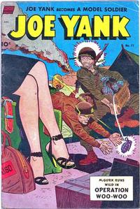 Cover Thumbnail for Joe Yank (Pines, 1952 series) #11