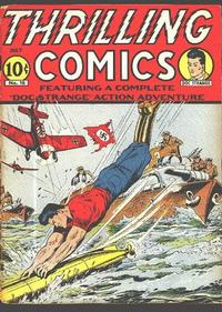Cover Thumbnail for Thrilling Comics (Standard, 1940 series) #18