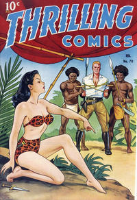 Cover Thumbnail for Thrilling Comics (Pines, 1940 series) #70