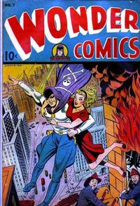Cover Thumbnail for Wonder Comics (Pines, 1944 series) #7