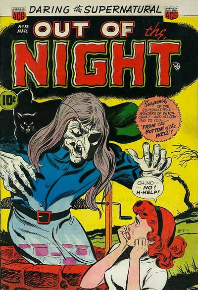 Cover for Out of the Night (American Comics Group, 1952 series) #13
