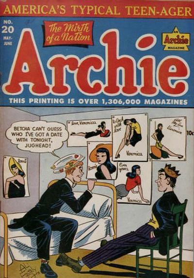 Cover for Archie Comics (Archie, 1942 series) #20
