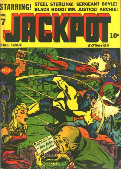 Cover for Jackpot Comics (Archie, 1941 series) #7