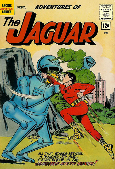 Cover for Adventures of the Jaguar (Archie, 1961 series) #8