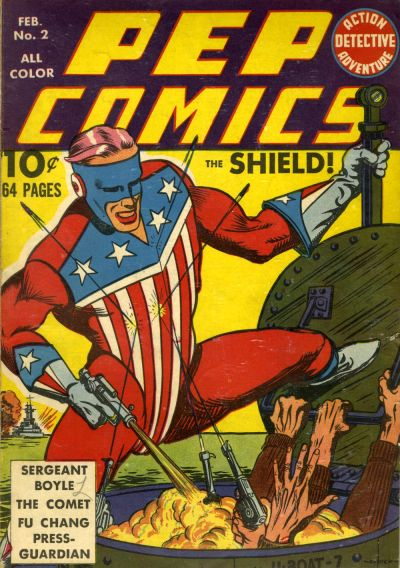 Cover for Pep Comics (Archie, 1940 series) #2