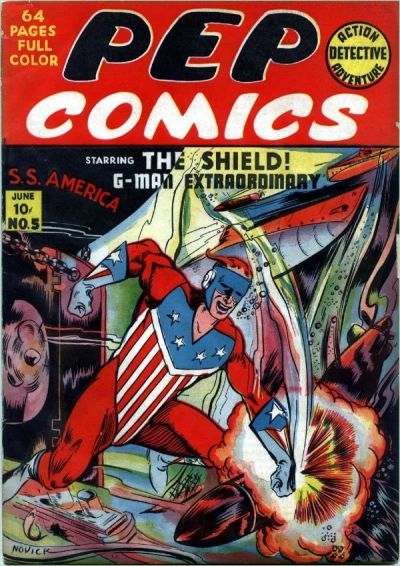 Cover for Pep Comics (1940 series) #5