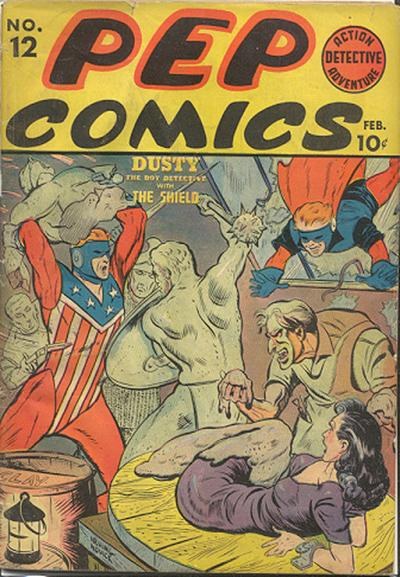Cover for Pep Comics (Archie, 1940 series) #12