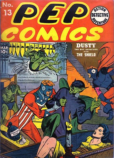 Cover for Pep Comics (1940 series) #13