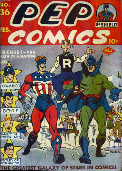 Cover for Pep Comics (Archie, 1940 series) #36
