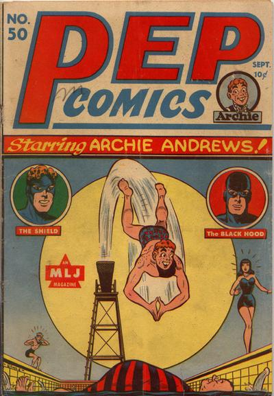 Cover for Pep Comics (Archie, 1940 series) #50