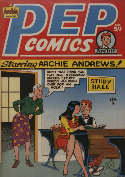 Cover for Pep Comics (Archie, 1940 series) #59