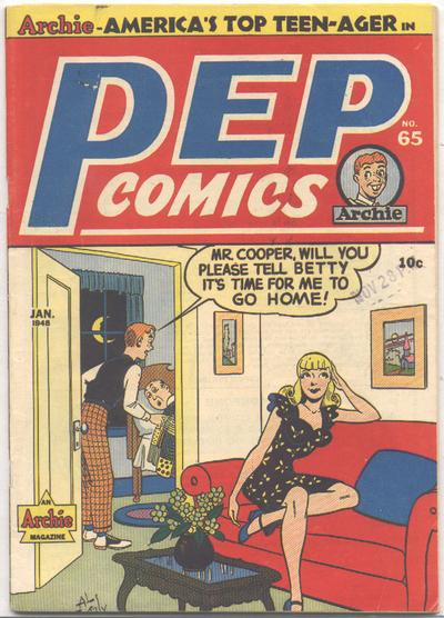 Cover for Pep Comics (Archie, 1940 series) #65