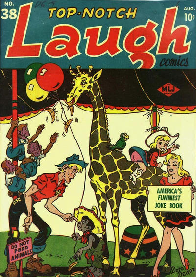 Cover for Top-Notch Laugh Comics (1942 series) #38