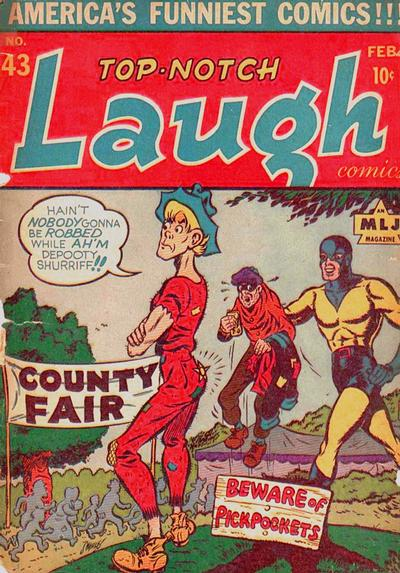 Cover for Top Notch Laugh Comics (Archie, 1942 series) #43