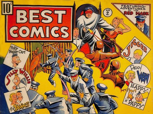 Cover for Best Comics (Standard, 1939 series) #2