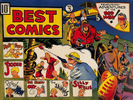 Cover for Best Comics (Standard, 1939 series) #3