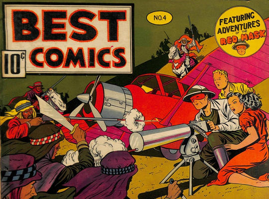 Cover for Best Comics (Standard, 1939 series) #4