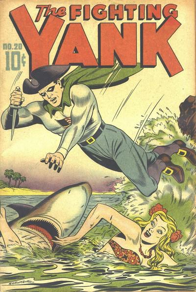 Cover for The Fighting Yank (Standard, 1942 series) #20
