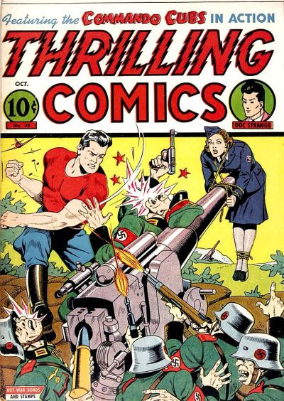 Cover for Thrilling Comics (Pines, 1940 series) #38