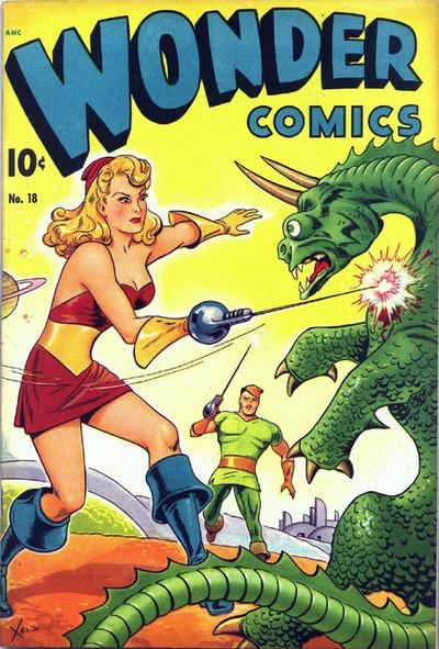 Cover for Wonder Comics (Pines, 1944 series) #18