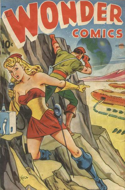 Cover for Wonder Comics (1944 series) #19