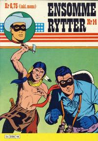 Cover Thumbnail for Ensomme Rytter (Hjemmet, 1977 series) #14