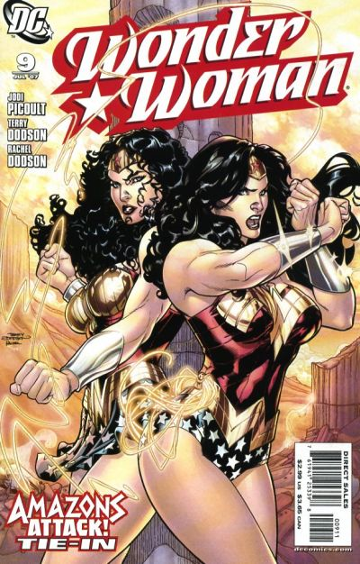 Cover for Wonder Woman (2006 series) #9