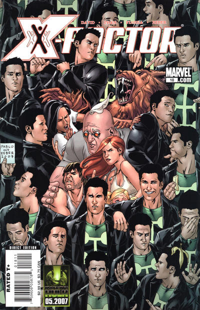 Cover for X-Factor (Marvel, 2006 series) #18