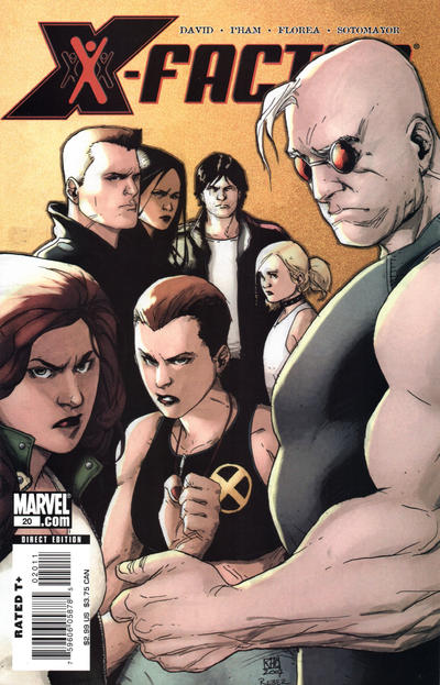 Cover for X-Factor (2006 series) #20