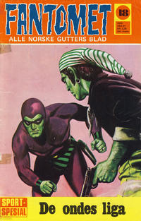 Cover Thumbnail for Fantomet (Romanforlaget, 1966 series) #18/1970