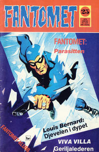 Cover Thumbnail for Fantomet (Nordisk Forlag, 1973 series) #25/1974