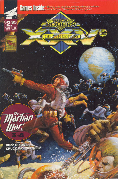 Cover for Buck Rogers Comics Module (1990 series) #9