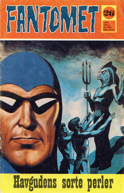 Cover for Fantomet (Romanforlaget, 1966 series) #26/1970