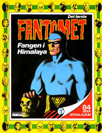 Cover Thumbnail for Fantomet Spesialalbum Fangen i Himalaya (Semic, 1981 series)