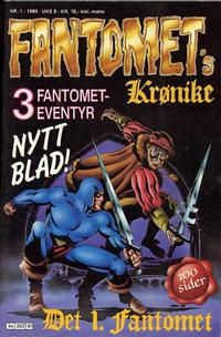 Cover Thumbnail for Fantomets krønike (Semic, 1989 series) #1/1989