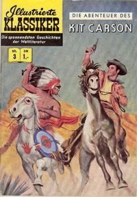 Cover for Illustrierte Klassiker [Classics Illustrated] (1956 series) #3