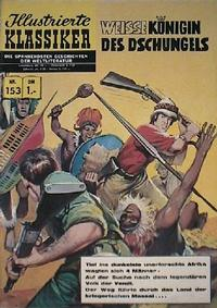 Cover for Illustrierte Klassiker [Classics Illustrated] (1956 series) #153