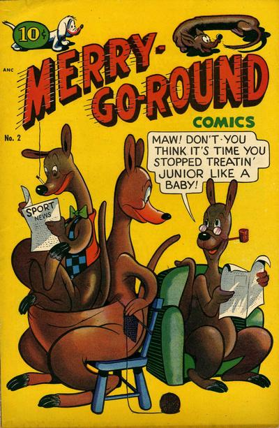 Cover for Merry Go Round Comics (Standard, 1947 series) #2