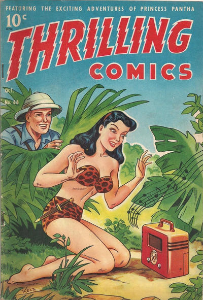 Cover for Thrilling Comics (Better Publications of Canada, 1948 series) #68